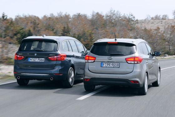 BMW 2er Gran Tourer Kia Carens