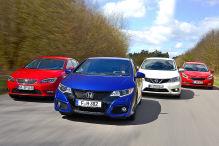 Wer schl�gt den neuen Honda Civic?