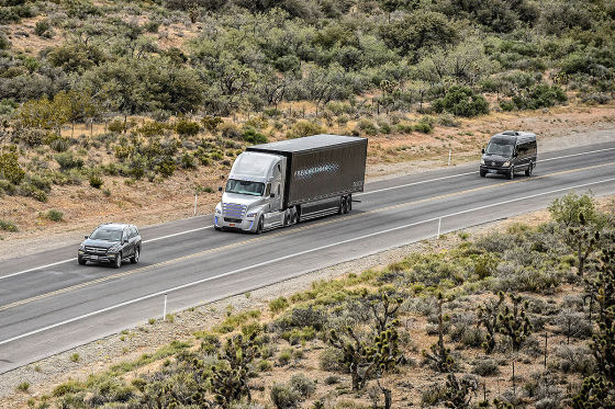Mercedes Freightliner Inspiration Truck