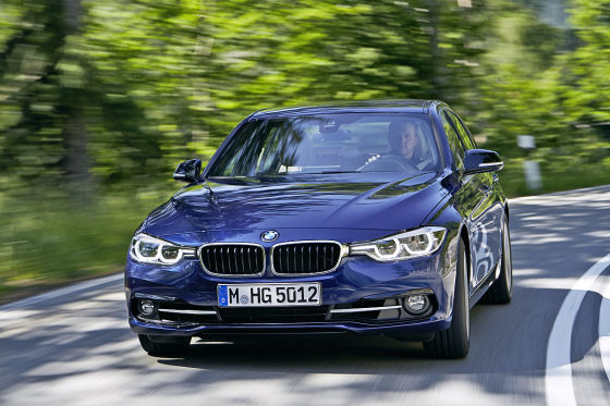 bmw 3er facelift iaa 2015 test fahrbericht. Black Bedroom Furniture Sets. Home Design Ideas