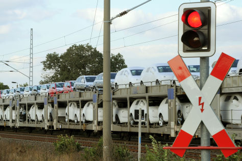Bahnstreik: Folgen für die Autoindustrie