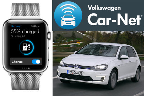 VW Car-Net und Apple Watch: Neue Connected Car-Features