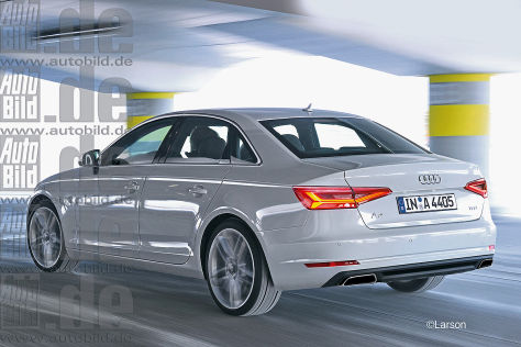 Audi A4 Illustration