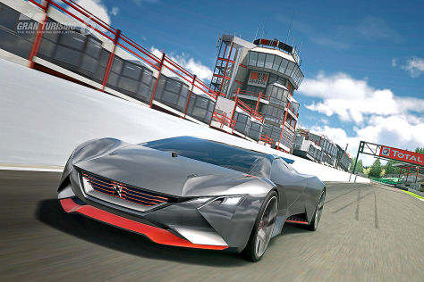 Peugeot Vision Gran Turismo für GT6 auf PlayStation 3