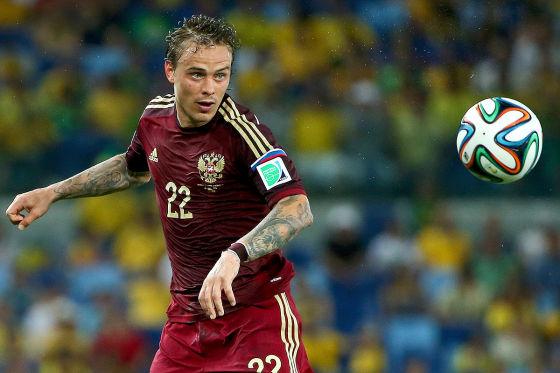 Fußballstar mit Schutzengel