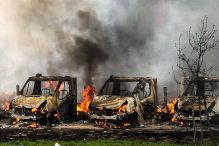50 Reisemobile abgebrannt