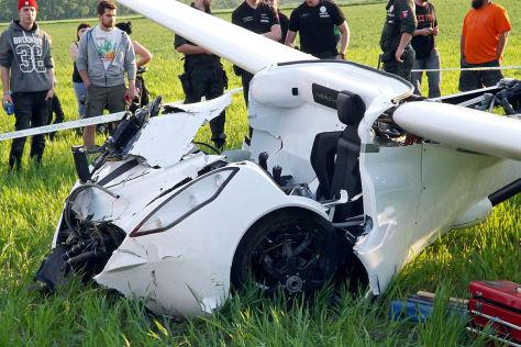 Aeromobil: Flugauto bei Testflug abgestürzt