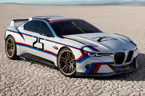 BMW 3.0 CSL Hommage R   das neue Rennauto feiert 40 Jahren BMW in Nordamerika