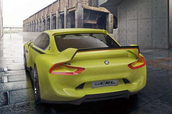 BMW 3.0 CSL Hommage (2015): Vorstellung - autobild.de