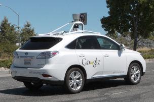 Wieder Crash mit Google Car
