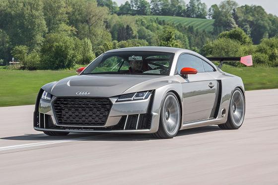 Audi Tt Clubsport Turbo Tt Rs 2016 Test Mitfahrt Und