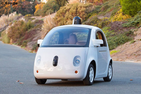 Autonomes Google-Auto: Unfallbilanz