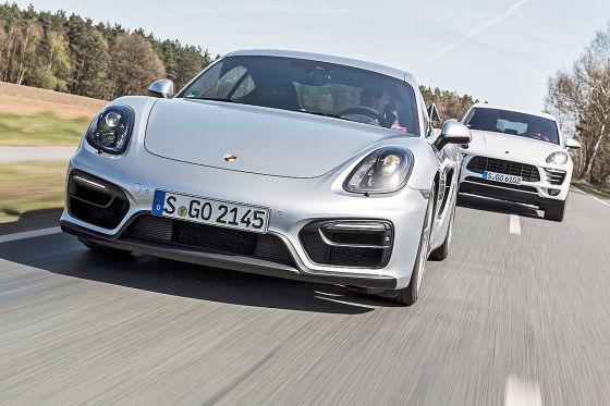 Porsche Cayman Porsche Macan