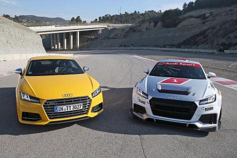 Audi TT Cup/Audi TTS: Vergleich