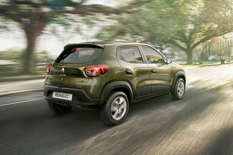 Renault Kwid: Vorstellung des City-SUVs für Indien