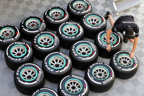 Die Performance der Formel-1-Reifen hat über die Jahre stark nachgelassen
