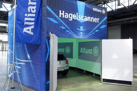 Hagelscanner von der Allianz