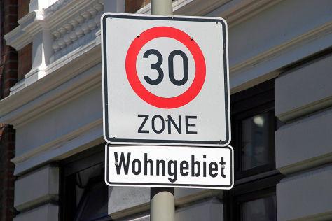 GdP: Tempo 30 in Wohngebieten