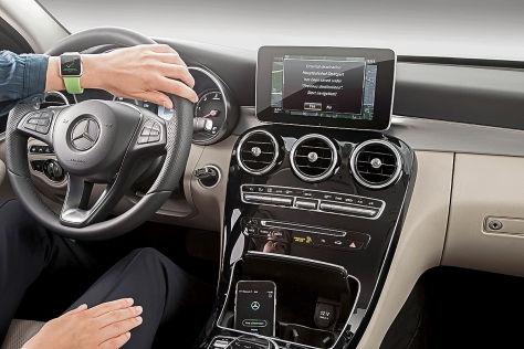 Mercedes-Benz Companion App: Vernetzt mit der Apple Watch