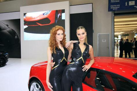 Istanbul Auto Show 2015 Hostessen