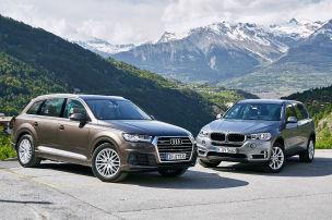 Video Audi Q7 Vs BMW X5