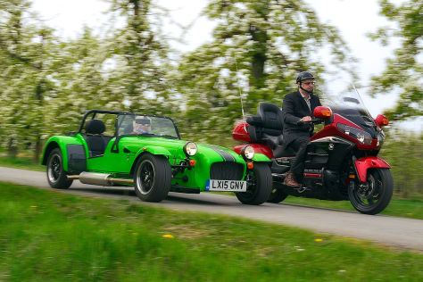 Caterham 275 R Honda Gold Wing