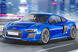 Audi R8 e-tron piloted driving (2015): Vorstellung