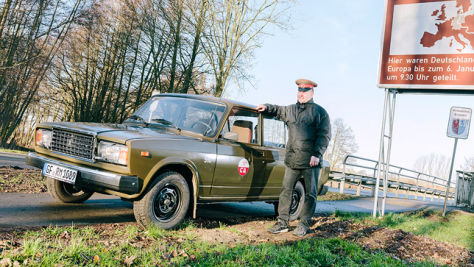 Kollektion von DDR-Fahrzeugen