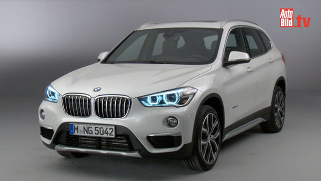 video bmw x1 2015. Black Bedroom Furniture Sets. Home Design Ideas
