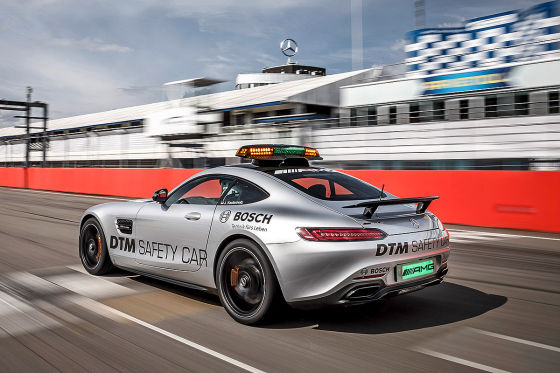 Mercedes AMG GT S als Safety Car der DTM 2015