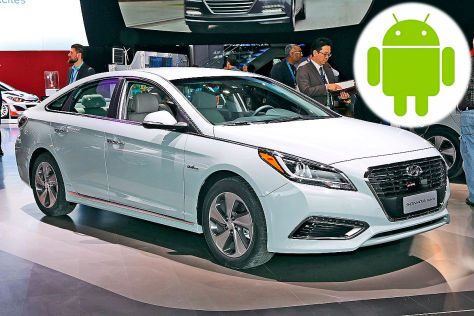 Android Auto: Erstmals serienmäßig im Hyundai Sonata