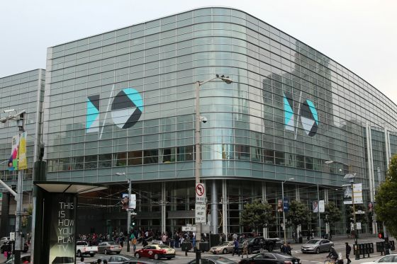 Moscone Center West in San Francisco