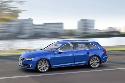 Audi S4 (2014): Erstes Erlkönigfoto