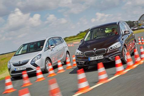 BMW 2er Gran Tourer Opel Zafira