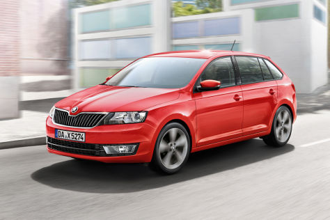 Skoda Rapid Spaceback: Motoren- und Multimedia-Update