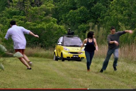 Video-Parodie zum Google Car: Das autonome Auto von Bing