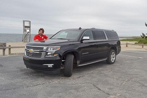 Fahrbericht Chevrolet Suburban 4wd Ltz Autobild De