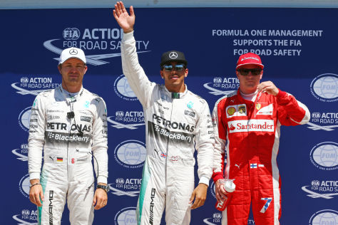 Top-3 Quali Montreal 2015