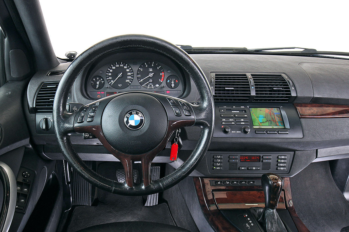 Bmw x5 e53 im test bilder for Interieur x5 e53