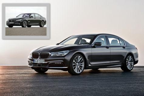 BMW 7er (2008/2015): Vergleich F01/G11