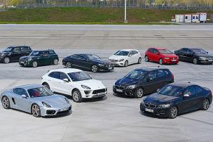 Mercedes liegt ganz vorn