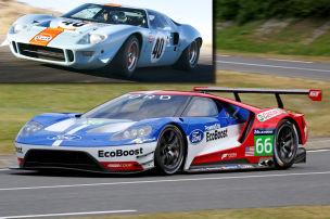 Neuer Ford GT f�r Le Mans