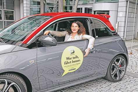 Opel-App CarUnity für privates Carsharing