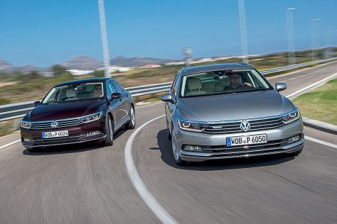 VW Passat Variant, VW Passat Limousine