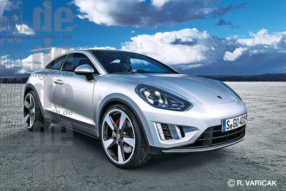 Porsche Macan Junior Coupé Illustration