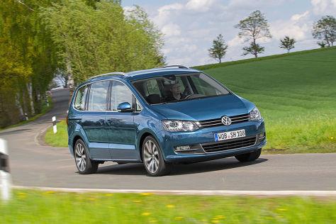 VW Sharan Facelift (2015): Vorstellung