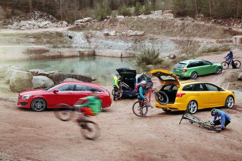 Ford/Mercedes/Peugeot/Skoda: Vergleich