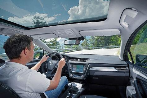 Toyota Avensis Facelift (2015): Fahrbericht