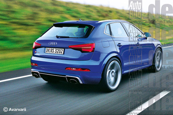 audi rs q3 vorschau 2018 startet der audi rs q3 mit 400. Black Bedroom Furniture Sets. Home Design Ideas