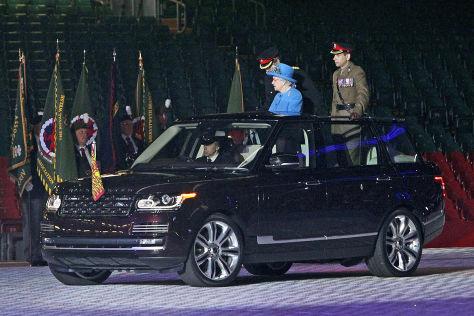 Range Rover: Neues Paradeauto für Queen Elizabeth